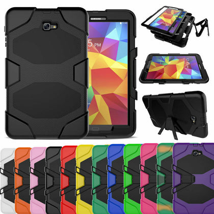 Heavy Duty Shock Proof Case Cover Samsung Galaxy Tab A 10.1