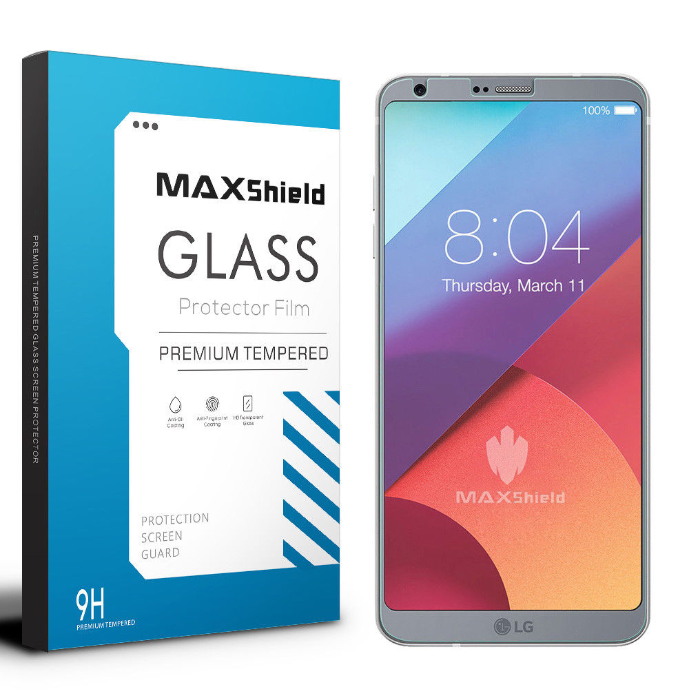 GENUINE MAXSHIELD TEMPERED GLASS SCREEN PROTECTOR FOR LG G6
