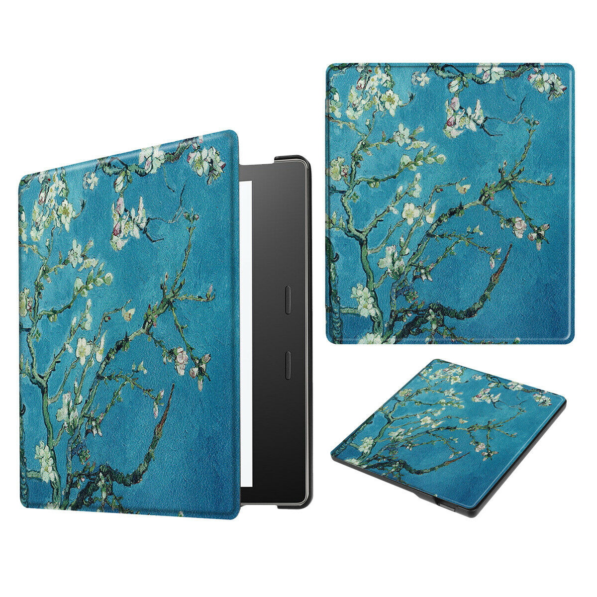For New Amazon All New Kindle 2019 Painting Leather Smart Cover--Graffiti