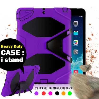 Kids Heavy Duty Shock Proof Case Cover for iPad 2/3/4