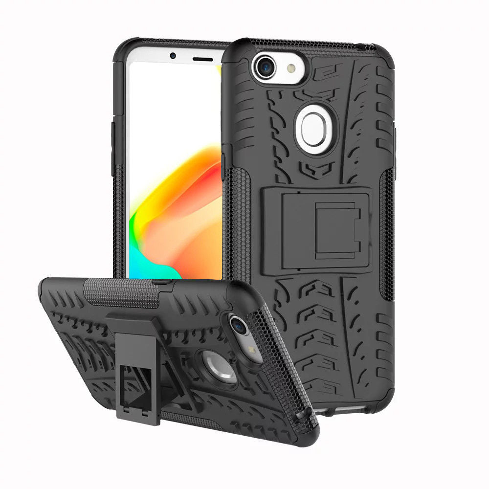 Shockproof Heavy Duty Case Tough Cover For Oppo AX5-Black/Red/Blue/Purple/Green