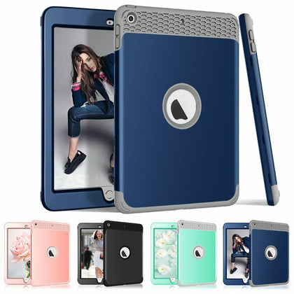 Heavy Duty Kids Shockproof Cover iPad Case For iPad 6th Generation 2018 9.7