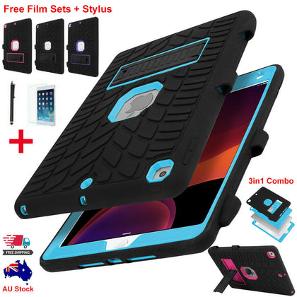 Hybrid Heavy Duty Case Shockproof Hard Stand Cover  For iPad 10.2'' 2019 7th Gen