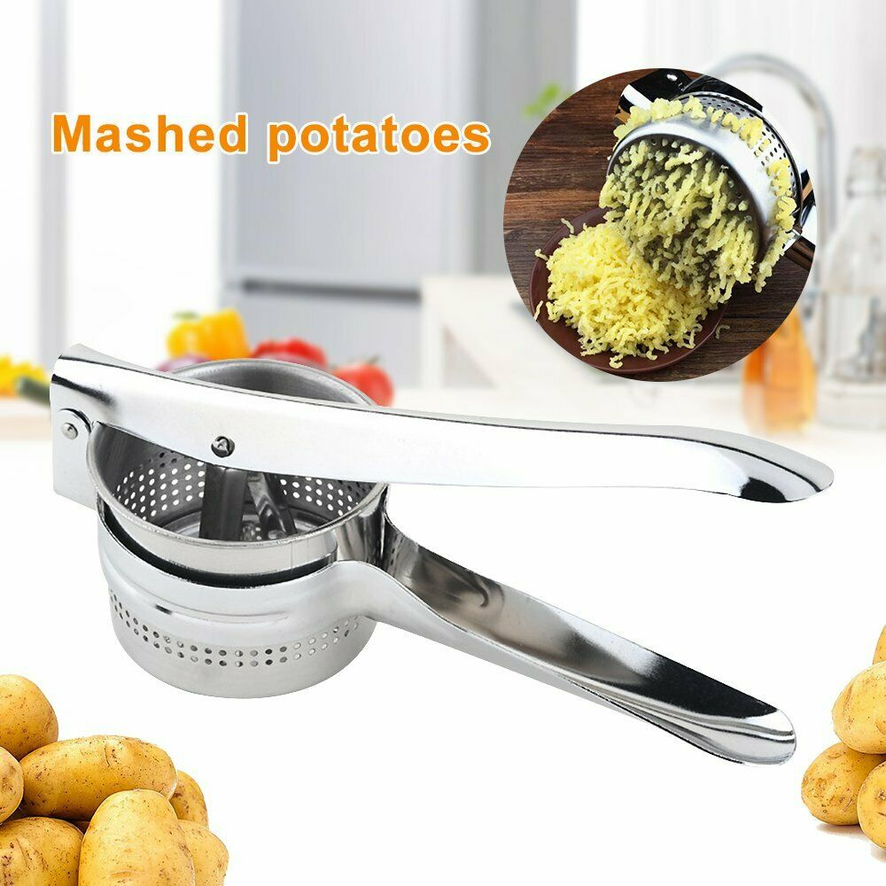 Stailess Steel POTATO RICER MASHER Fruit Vegetable Press Potatoe Gnocchi Press