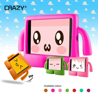 Kids Heavy Duty Stand Shockproof Case Cover For iPad Mini 123