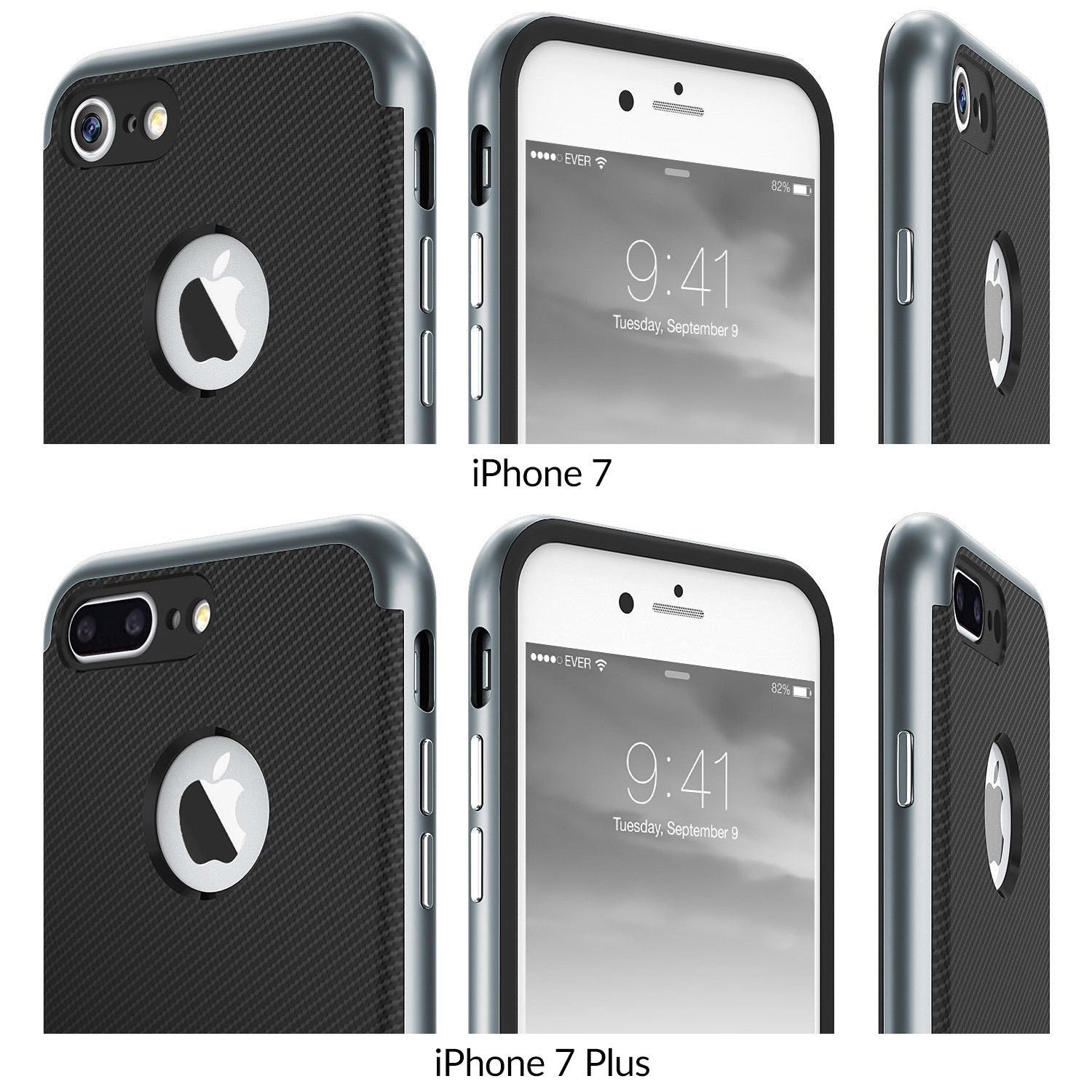 PREMIUM BUMPER Dual Layer Premium Case Slim Fit For iPhone 7 / 7 Plus