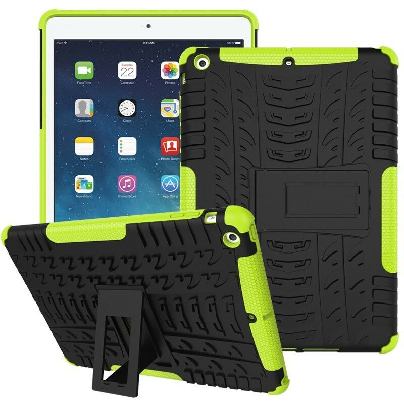 "Heavy Duty Shockproof Case Cover Fr Apple iPad 5th 9.7"" 2017"