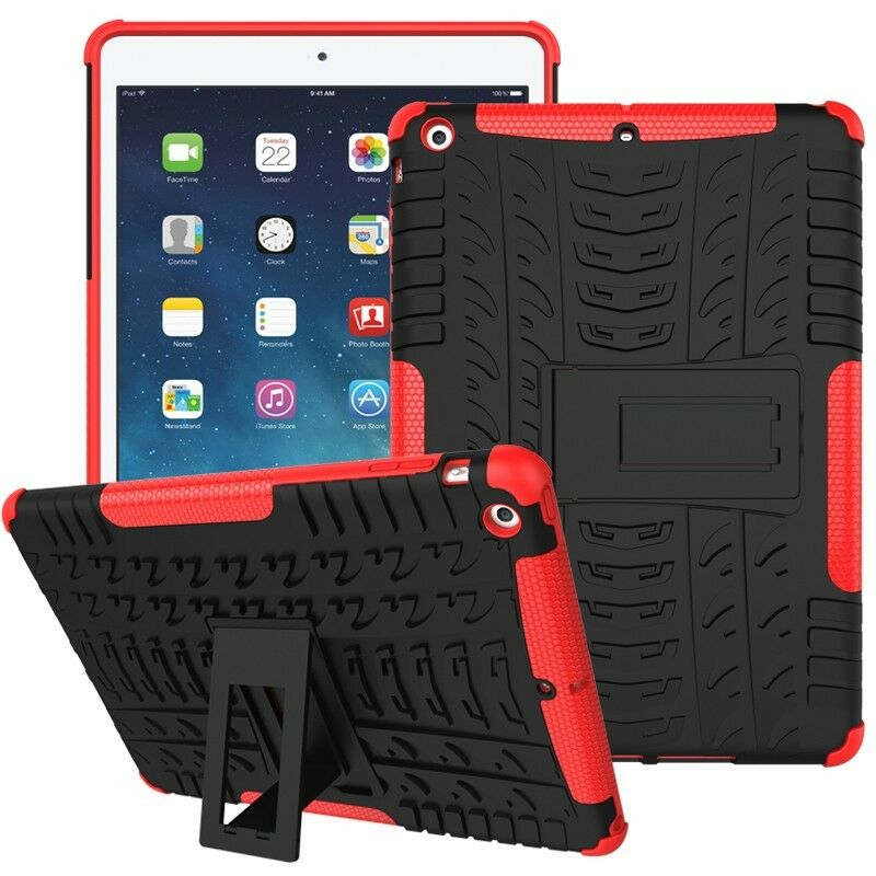 Heavy Duty Shockproof Case Cover Fr Apple iPad Air 1