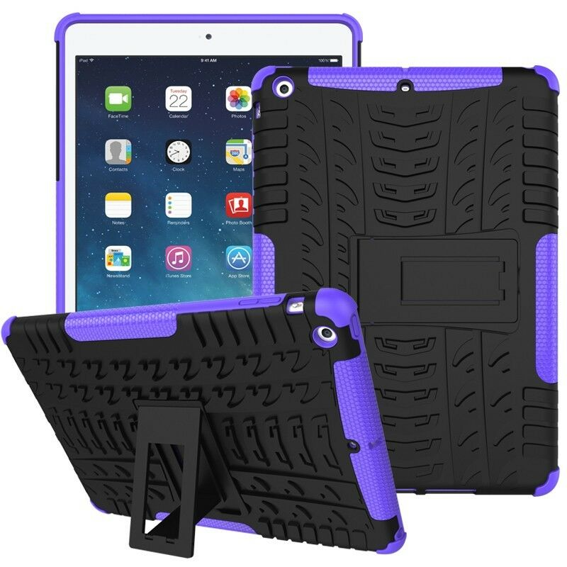 Heavy Duty Shockproof Case Cover Fr Apple iPad Mini 1/2/3