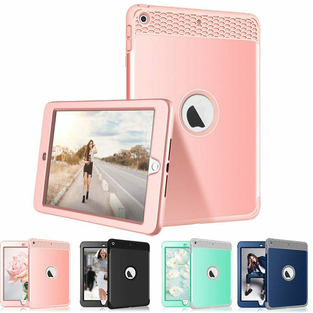 Heavy Duty Kids Shockproof Cover iPad Case For iPad 5th Generation 2017 9.7""