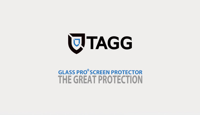 GENUINE TAGG TEMPERED GLASS SCREEN PROTECTOR FILM FOR APPLE IPHONE 8