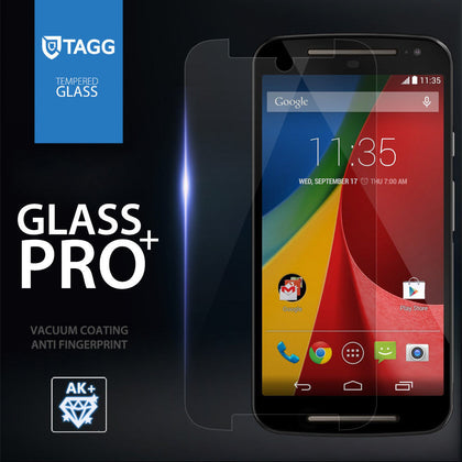 GENUINE TAGG TEMPERED GLASS SCREEN PROTECTOR FILM FOR Motorola Moto G Moto X 2nd