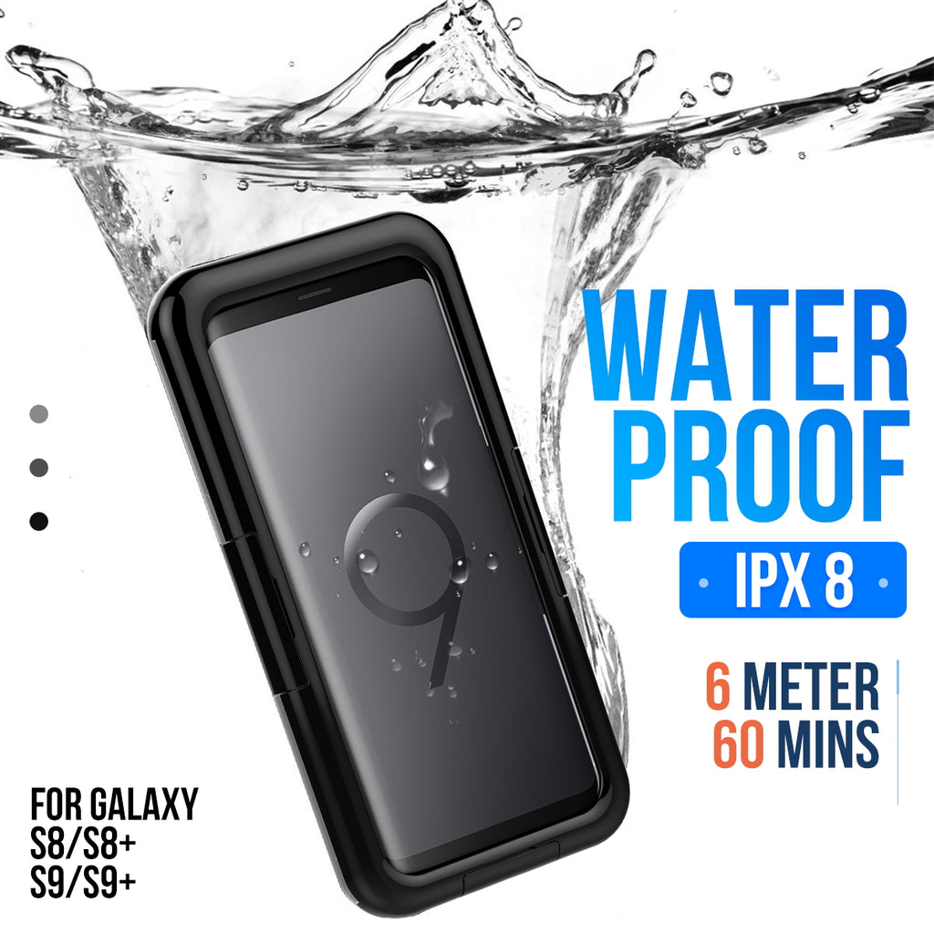 on sale 66d96 3fd2e IPX8 Waterproof Dustproof Phone Protector Case For Samsung Galaxy S9 ...
