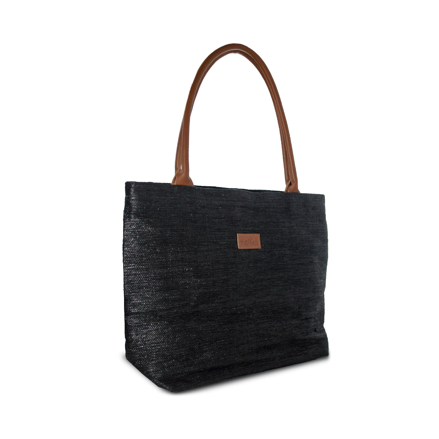 Tote Black & Brown Leather