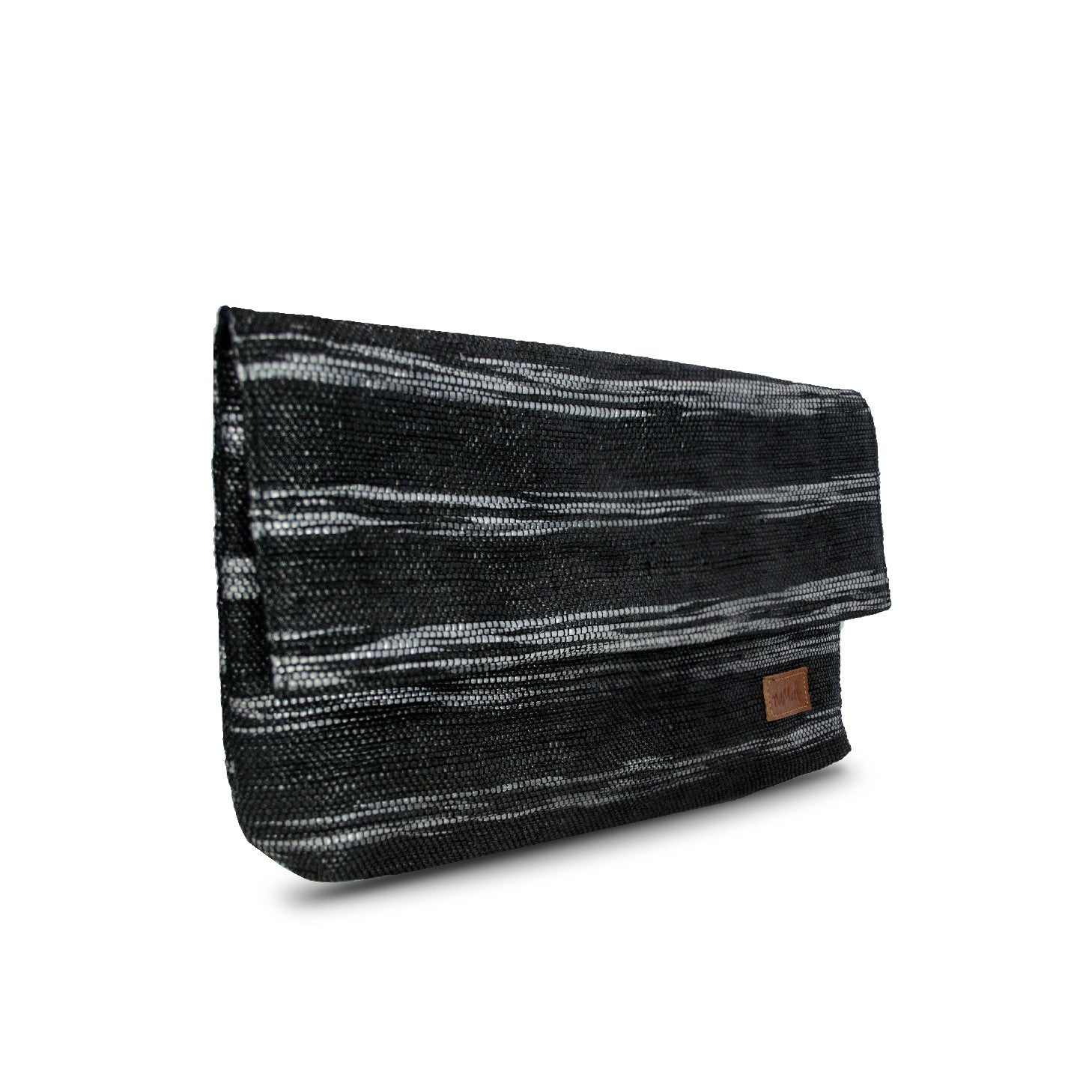 Clutch Black & Grey