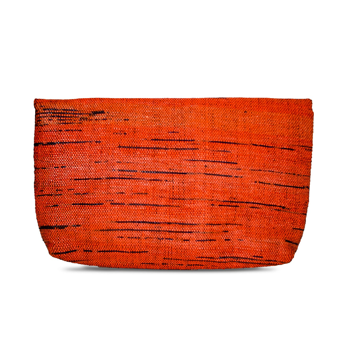 Clutch Black & Orange