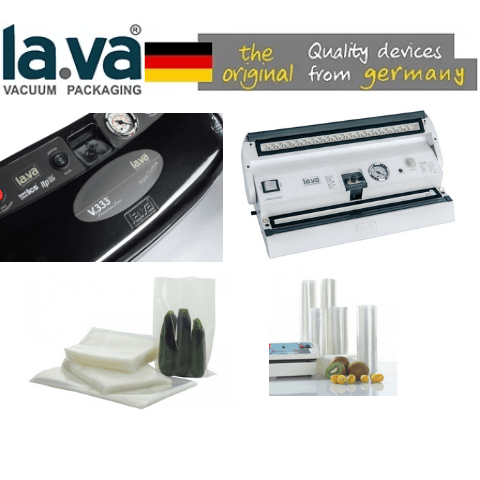 Lava Vacuum Sealers, Bags & Rolls have Arrived!