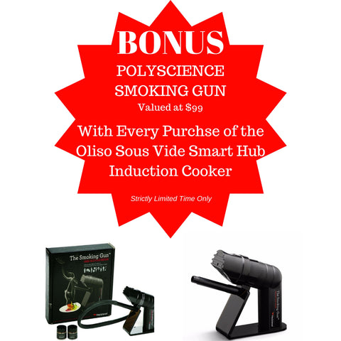PolyScience Smoking Gun Bonus with Oliso Sous Vide Machine