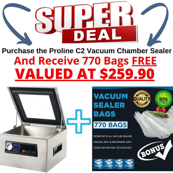 Proline C2 Vacuum Chamber Sealer Cryovac Machine Special Offer Buy Now