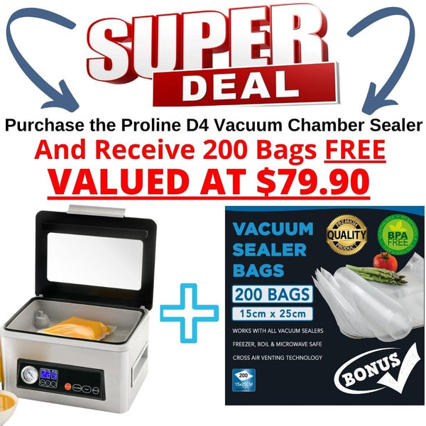 Proline D4 Vacuum Chamber Sealer Cryovac Machine Special Offer Buy now