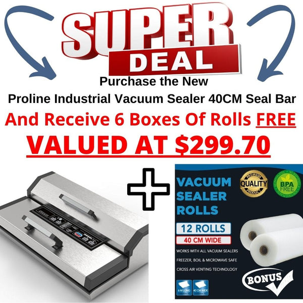 Proline Industrial Vacuum Sealer Offer