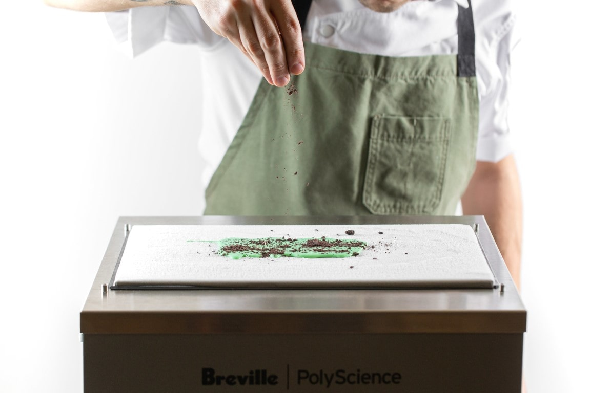 Polyscience Anti Griddle Creating Food