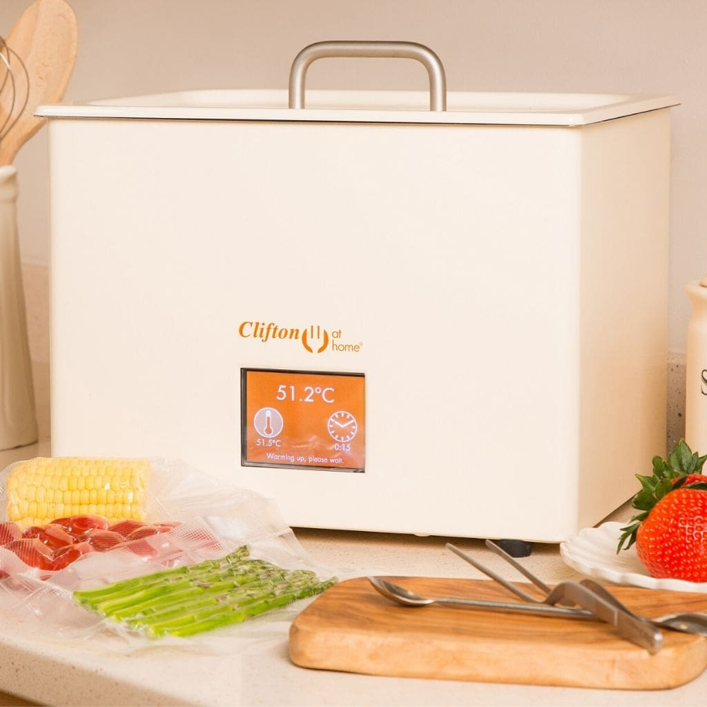 Clifton at Home Sous Vide Machine Water Bath Cooker Cream