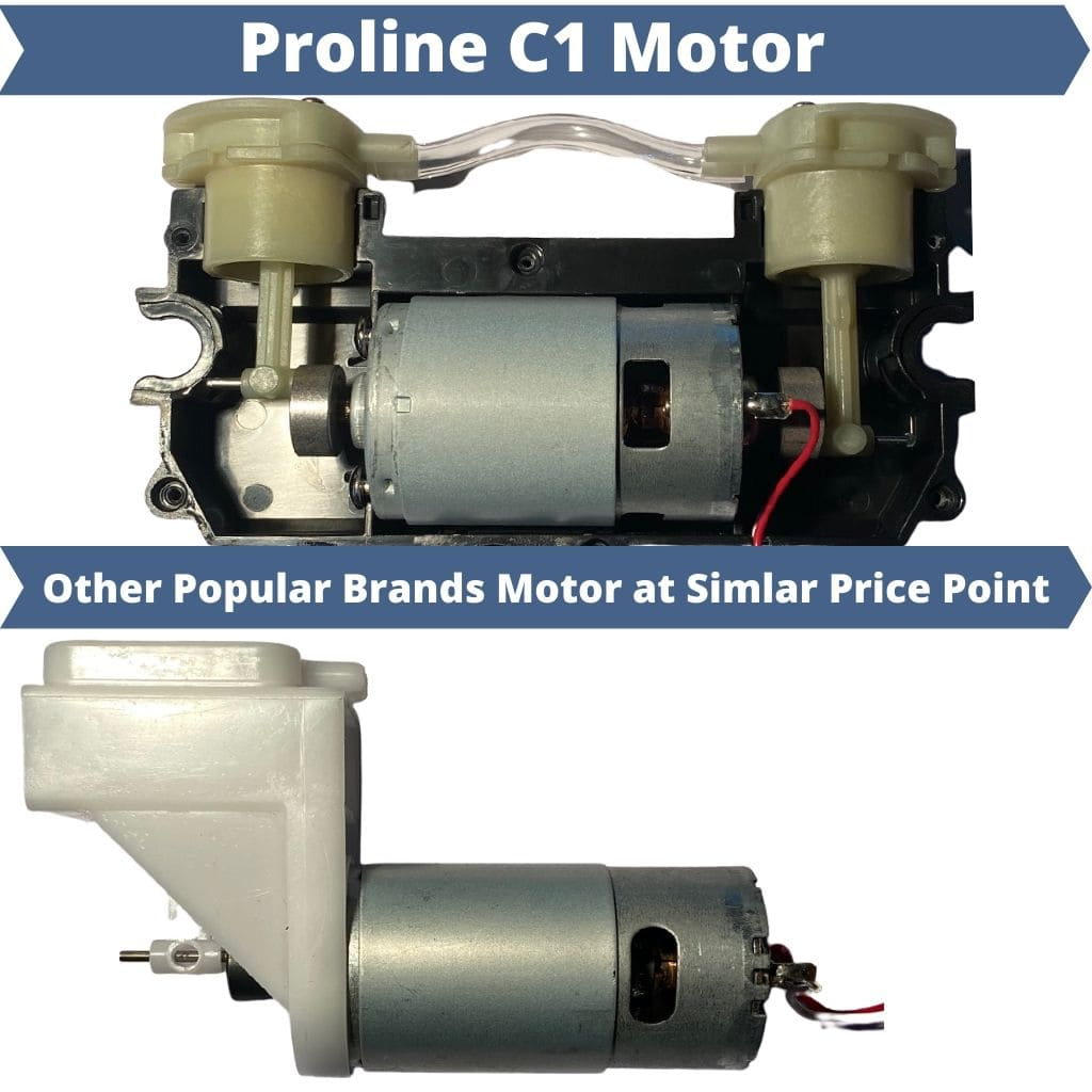 Proline C1 Vacuum Sealer Motor Comparison