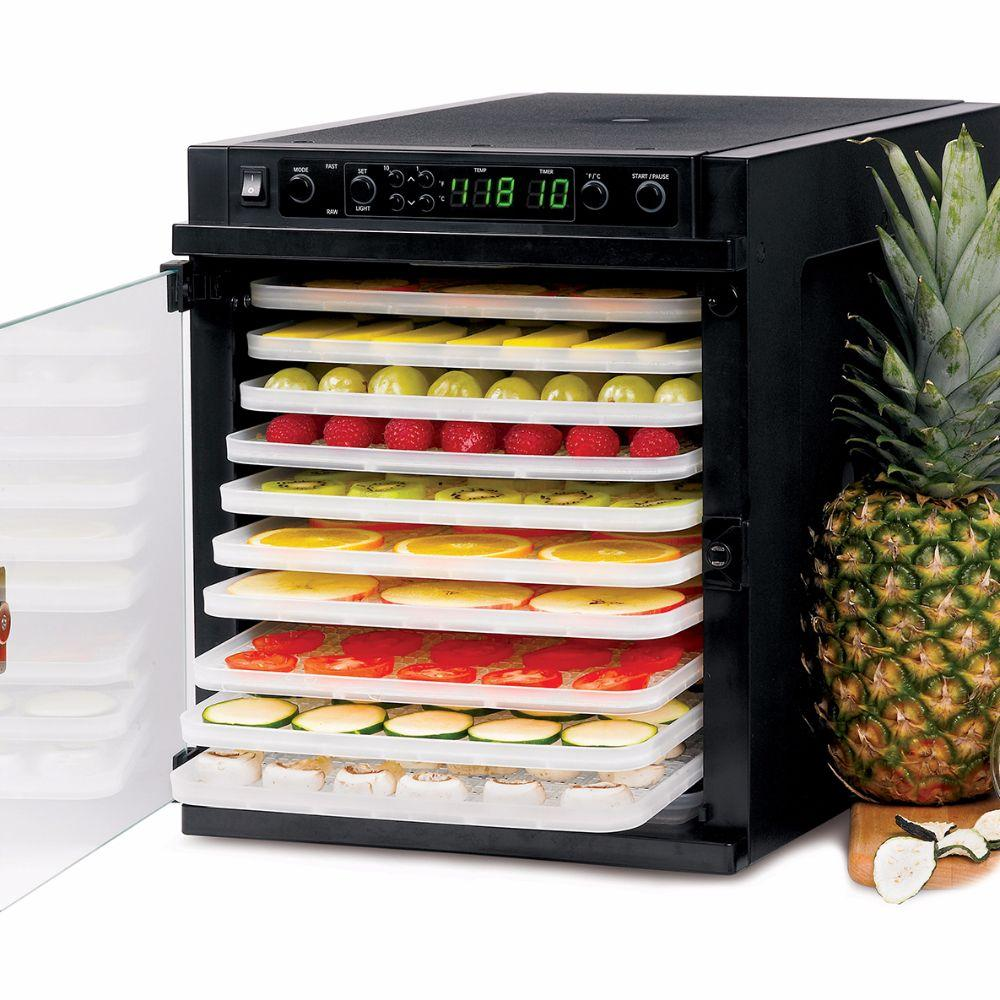 Sedona Express Food Dehydrator with 11 BPA FREE Plastic Trays Food Dehydrator Sedona