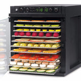 Cooking Food Sedona Express Food Dehydrator with 11 Stainless Steel Trays