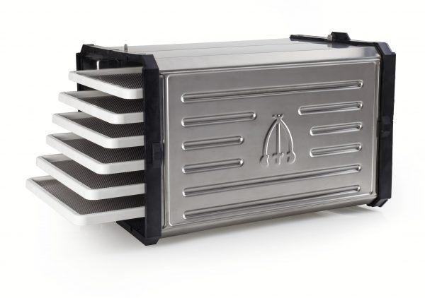 Tre Spade Benchtop Food Dehydrator 6 Stainless Steel Tray Food Dehydrator Tre Spade