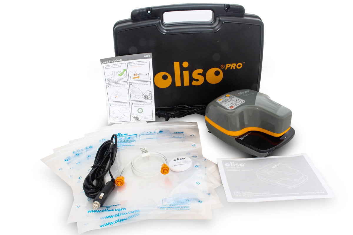 Oliso Pro Vacuum Sealer VS97A with Carry Case & 12volt Adaptor Vacuum Sealer Oliso