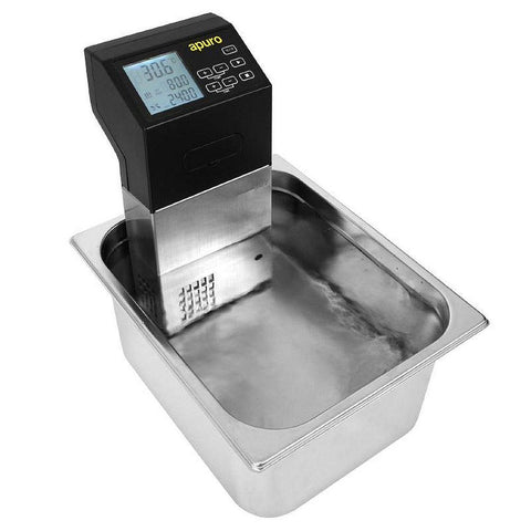 Apuro Portable Sous Vide 1500W - Stainless Steel - Sous Vide Chef