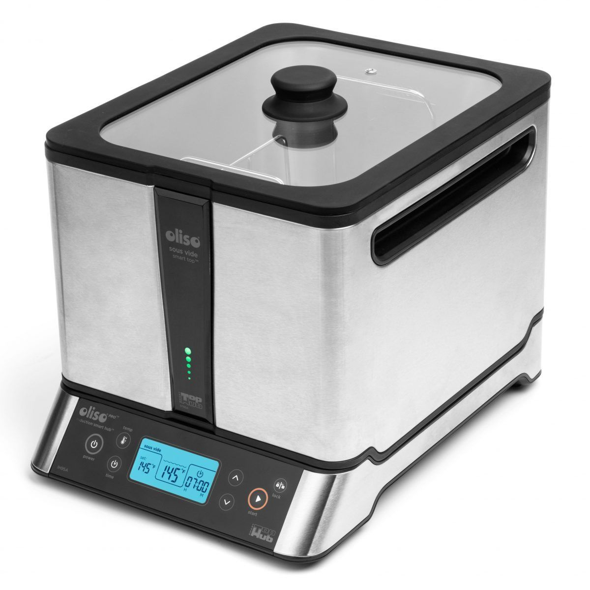 Oliso Sous Vide Smart Hub Induction Cooker with Bonus PolyScience Smoking Gun Sous Vide Machine Oliso