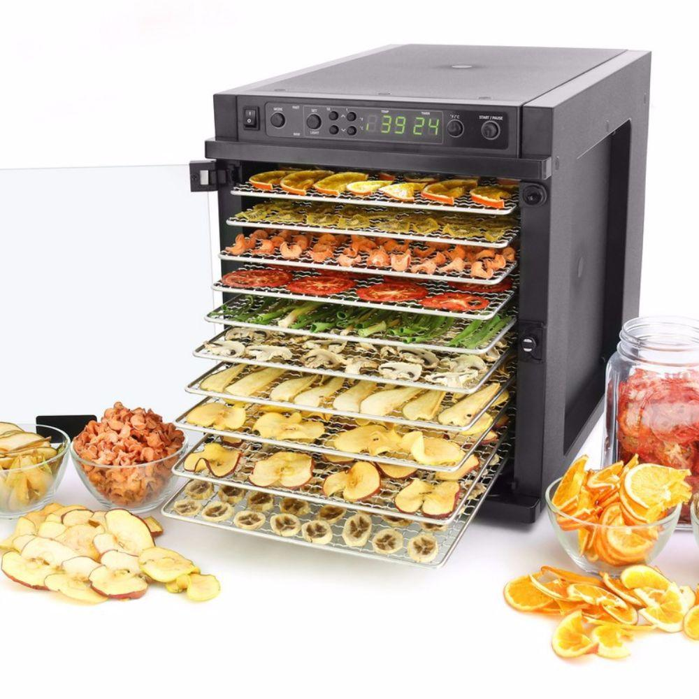 Sedona Express Food Dehydrator with 11 Stainless Steel Trays Food Dehydrator Sedona