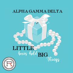 Alpha Gamma Delta Big Little Reveal_ Running Threads Screen printing and embroidery