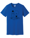 SALT Fitness Short Sleeve T-shirt, Bella Canvas - Running Threads Screen Printing and Embroidery