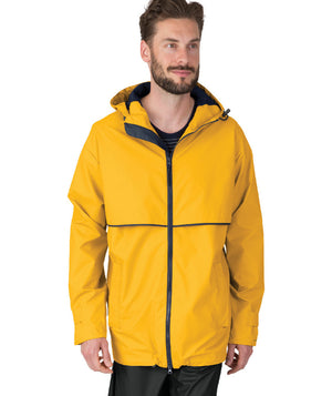 New Englander Rain Jacket Mens - Running Threads Screen Printing and Embroidery