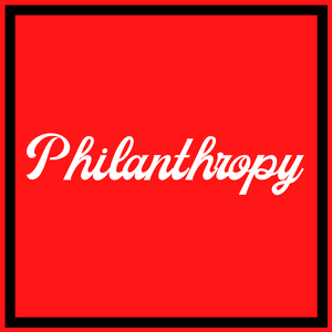 """Philantrophy"" Bid Day Gift Bag - Running Threads Screen Printing and Embroidery"