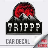Decal | TRIPPP - Running Threads Screen Printing and Embroidery