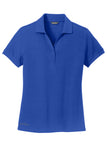 Arisa Health Eddie Bauer Ladies Cotton Pique Polo, EB101 - Running Threads Screen Printing and Embroidery