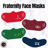 Fraternity Logo Mask - Running Threads Screen Printing and Embroidery