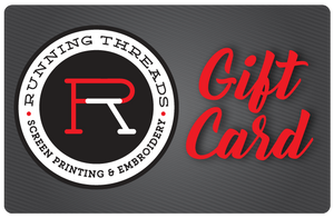 Gift Card - Running Threads Screen Printing and Embroidery
