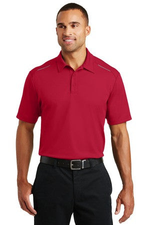 Pinpoint Mesh Polo