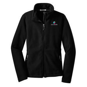 Arisa Health Port Authority Ladies Fleece Jacket, L217 - Running Threads Screen Printing and Embroidery