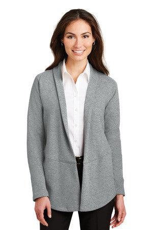 Ladies Interlock Cardigan -SBMC L807 - Running Threads Screen Printing and Embroidery