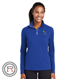 Miracle Kids Sport-Tek® Ladies Sport-Wick® Textured 1/4-Zip Pullover - LST860 - Running Threads Screen Printing and Embroidery