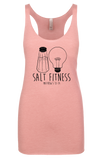 SALT Fitness Womens Tri-blend Racerback Tank - NL6733 - Running Threads Screen Printing and Embroidery