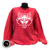 Red Wolf Cord Sweater - Limited availability!