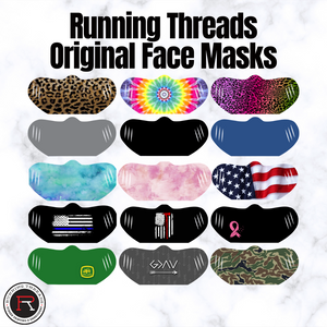 Original Designs & Solids - Face Masks - Running Threads Screen Printing and Embroidery